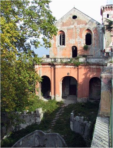 casamarciano - chiesa santa maria e la badia virginiana