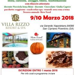locandinanocciola e cioccolato villa rizzo 9 10 marzo